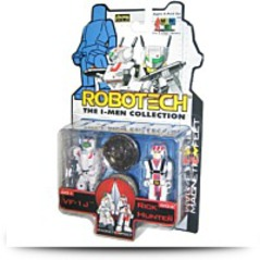 Robotech I Men Vf 1J And Rick Hunter