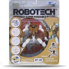 Robotech VF1A Veritech Super Poseable