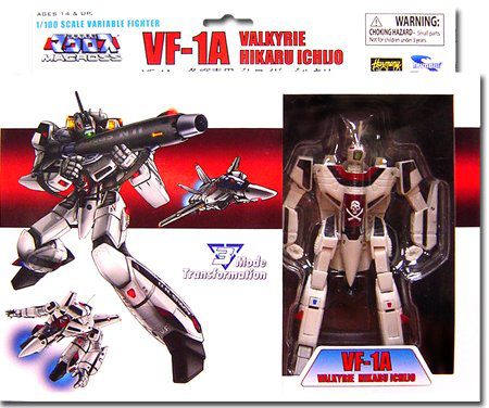 Robotech Macross 5 Inch 1100 Scale Fully